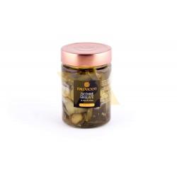 zucchine grigliate in olio d'oliva